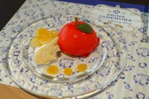 『種村有菜』×アニメイトカフェ「神風怪盗ジャンヌ」天使のペルの実ケーキ