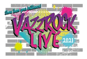 VAZZROCK LIVE 2021 ロゴ