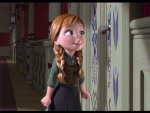 アナと雪の女王:アナ〈少女期〉