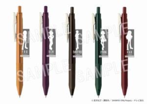 TVアニメ「シャーマンキング」×「マルイ」期間限定ショップ SARASAクリップボールペン スーツVer(全5種)