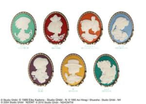 ジブリ「Donguri Closet」カメオブローチコレクション(全7種類+シークレット1種)