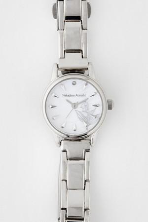「文豪ストレイドッグス」×「EMooooN」ブレスレット付き腕時計 中島敦モデル 盤面アップ