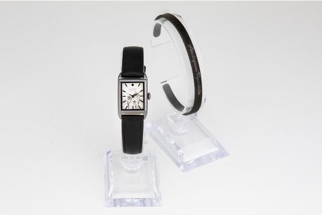 「文豪ストレイドッグス」×「EMooooN」ブレスレット付き腕時計 芥川龍之介モデル