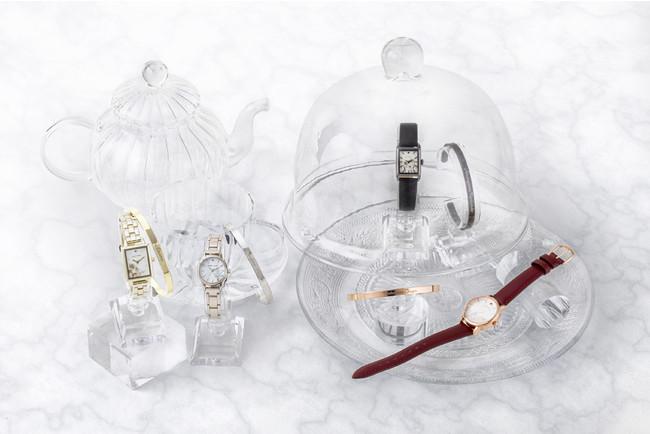 「文豪ストレイドッグス」ブレスレット付き腕時計が受注販売で登場!各キャラをイメージした花&スワロフスキーが魅力