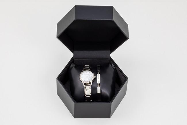 「文豪ストレイドッグス」×「EMooooN」ブレスレット付き腕時計 中島敦モデル 専用BOX