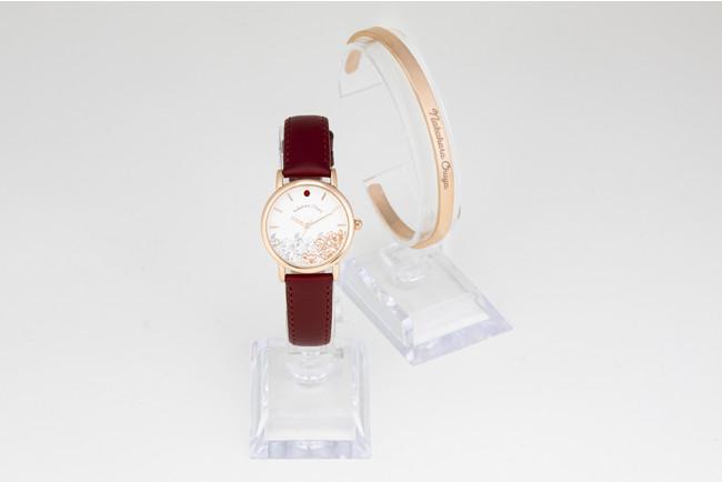「文豪ストレイドッグス」×「EMooooN」ブレスレット付き腕時計 中原中也モデル
