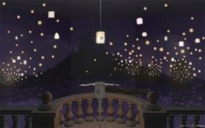 ディズニープリンセス展「WHAT IS LOVE? ~輝くヒミツは、プリンセスの世界に。~」塔の上のラプンツェル・ランタン