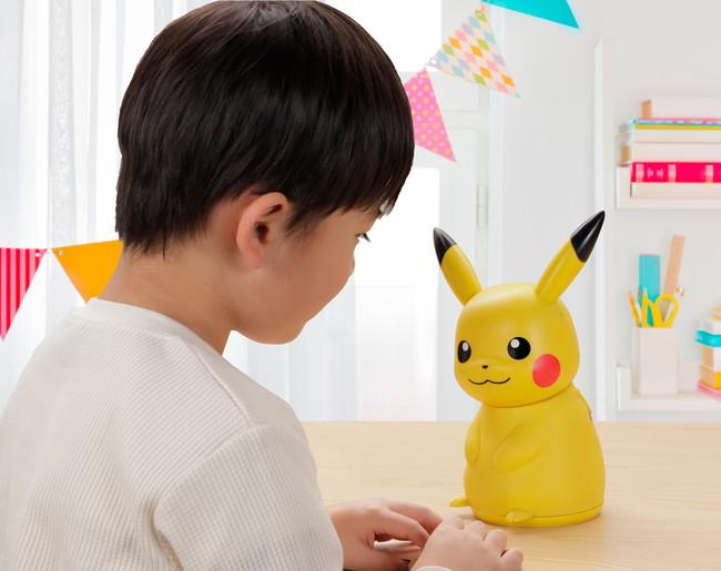 """「ポケモン」ピカチュウのロボット""""おはなししよ!ノリノリピカチュウ""""発売決定!怒ると10まんボルトを放つことも!?"""