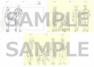 「ジョーカー・ゲーム放送5周年記念フェア」ラフ複製原画展示