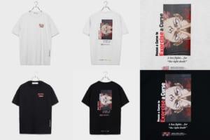 呪術廻戦×LEGENDA Tシャツ 両面宿儺モデル