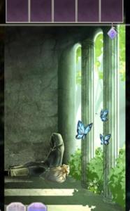 脱出アプリ「BloomsOfDarknessFall 〜時空の迷宮〜」脱出パート