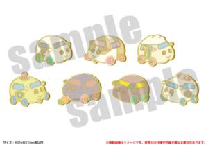 「PUI PUI モルカー PremiumShop -DesignProduced by Sanrio-」ピンバッジ(全7種)