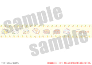 「PUI PUI モルカー PremiumShop -DesignProduced by Sanrio-」マスキングテープ:660円