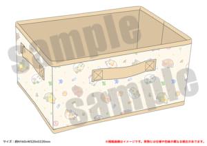 「PUI PUI モルカー PremiumShop -DesignProduced by Sanrio-」収納BOX:3,190円
