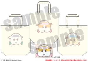「PUI PUI モルカー PremiumShop -DesignProduced by Sanrio-」トートバッグ(全3種):各3,960円(税込)