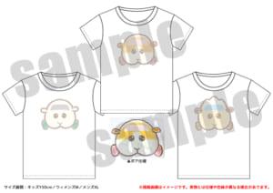 「PUI PUI モルカー PremiumShop -DesignProduced by Sanrio-」Tシャツ(全3種):各4,180円(税込)