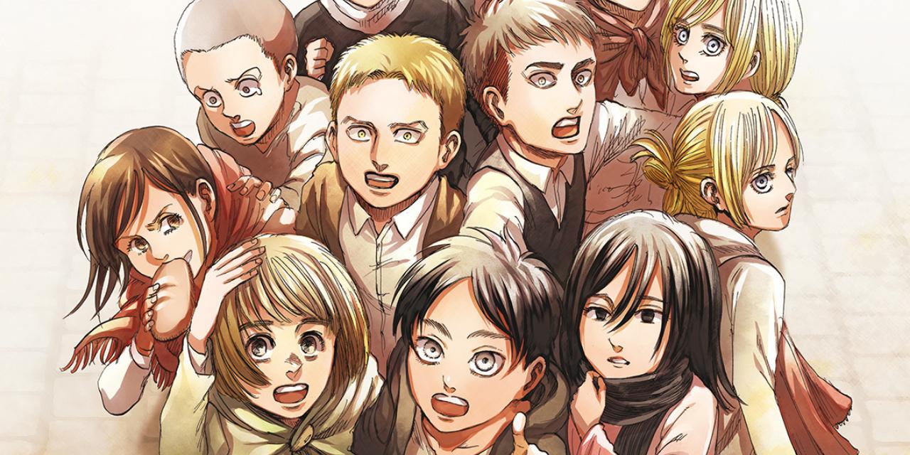 「進撃の巨人」原作漫画完結キャンペーン実施!コミックス最終巻は特装版2種とともに6月発売