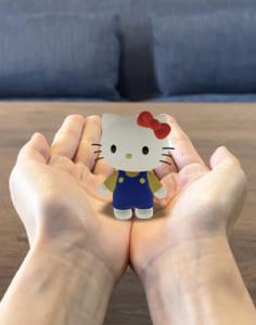 「サンリオ」Google検索3Dキャラクター 手乗りキティ