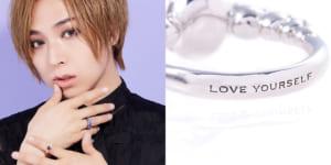 蒼井翔太さん×「ANNA SUI」リング「Dearest Ring」