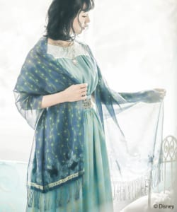 axes femme POETIQUE 初のDisney Collection『アラジン』ストール:コン