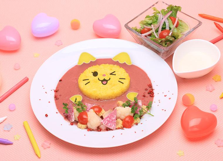 「WDZYカフェ」日本に初登場!ピンクのカレーやシチュー、パープルのハンバーガーなど映えメニュー満載