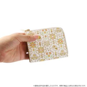 夏目友人帳 ニャンコ先生浅草文庫L字ミニ財布 使用イメージ