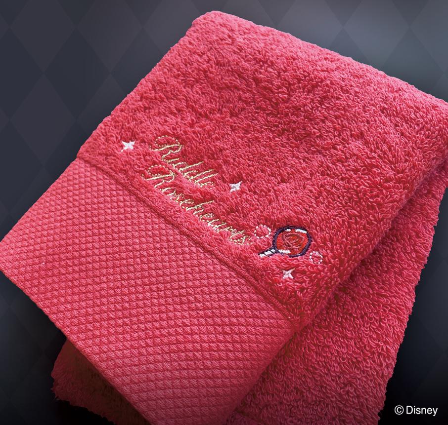 「ツイステ」世界に1枚のオリジナル推しタオルを作ろう!色・サイズも選べる「スピード刺繍オンライン」が画期的