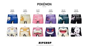 「HIPSHOP」ポケモン Series新種類ラインナップ