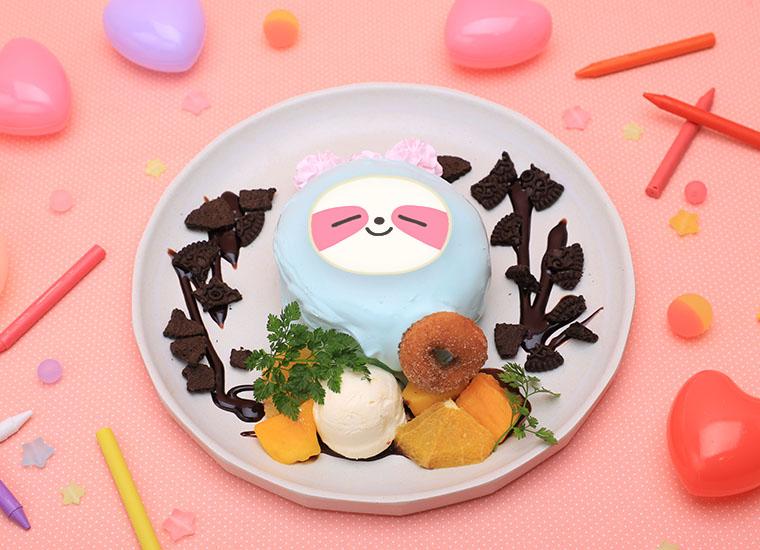 「WDZYカフェ」【LYA】チョコミントパンケーキ