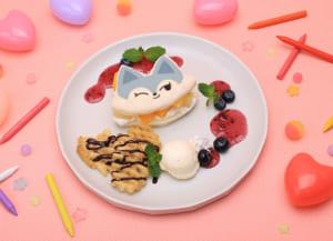 「WDZYカフェ」【CHUNG-EE】フルーツサンドイッチ