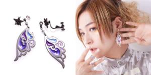 蒼井翔太さん×「ANNA SUI」イヤーアクセサリー「Feather Ear Accessories」