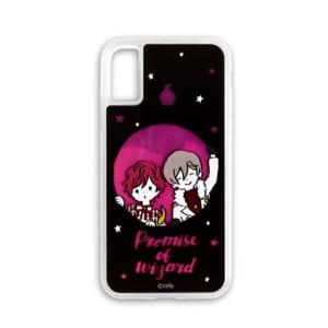 「魔法使いの約束×ビィズニィズ」ネオンサンドiPhoneケース