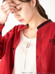 earth music&ecology Japan Label ×「ワールドトリガー」キューブモチーフネックレス