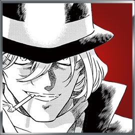 「名探偵コナン」緋色の総選挙第10位:ジン
