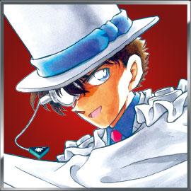 「名探偵コナン」緋色の総選挙第5位:怪盗キッド