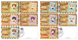 『アニメ「ヘタリア World★Stars」×TOWER RECORDS CAFE』特典ポストカード