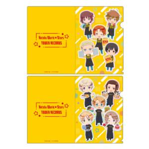 『アニメ「ヘタリア World★Stars」×TOWER RECORDS CAFE』クリアファイル2枚セット