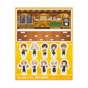 『アニメ「ヘタリア World★Stars」×TOWER RECORDS CAFE』アクリルジオラマ