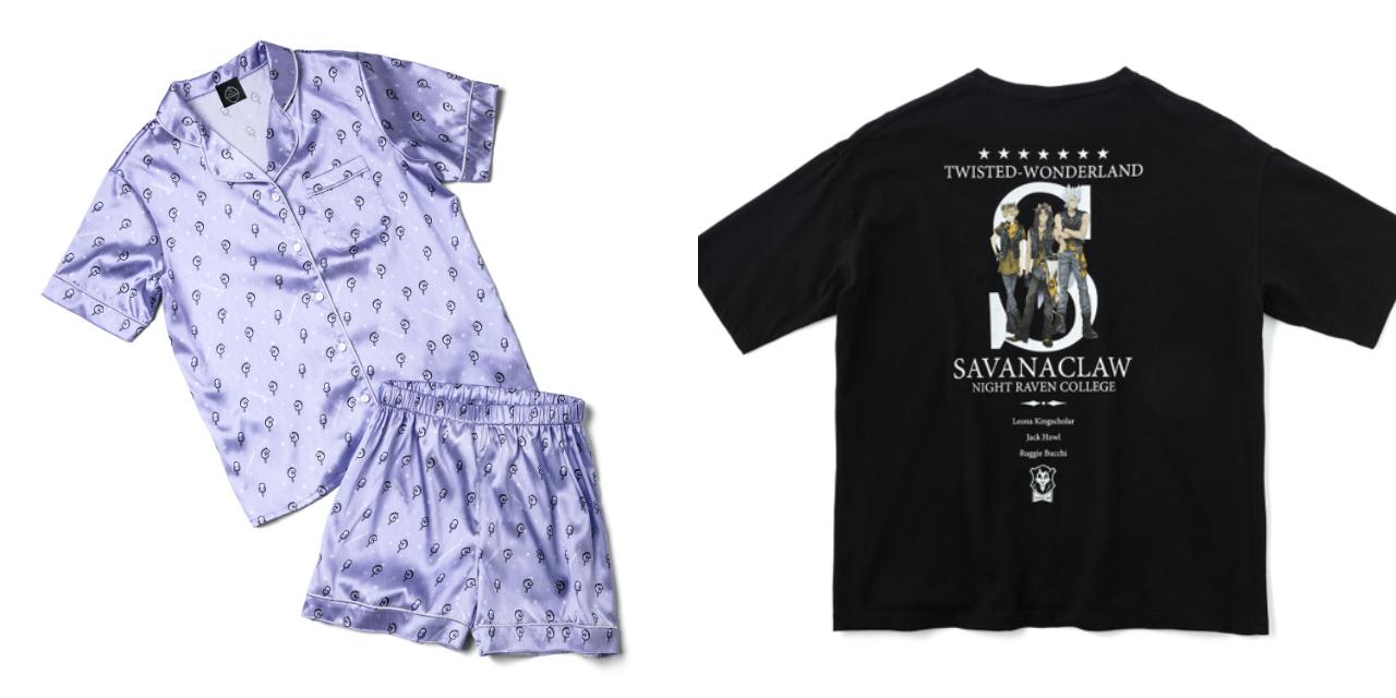 「ツイステ×ZOZO」夏を快適に過ごせるルームウェアやTシャツが予約開始!