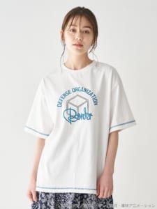 earth music&ecology Japan Label ×「ワールドトリガー」カラーステッチTシャツ