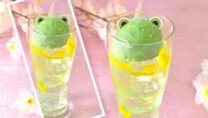 「カードキャプターさくら クリアカード編」×「アニメイトカフェ」さくらとスッキリかおる柚子ドリンク~カエルさんアイスをそえて~