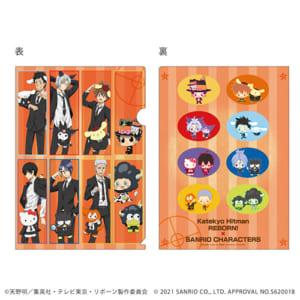 「家庭教師ヒットマンREBORN!× SANRIO CHARACTERS」 POP UP SHOP in 東京キャラクターストリート クリアファイル(A4サイズ)