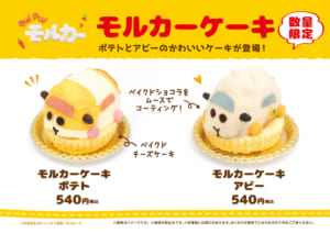 「PUI PUI モルカー」×「青海珈琲」モルカーケーキ
