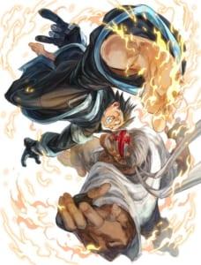 シヒラ竜也先生が描いた『炎炎ノ消防隊』イラスト
