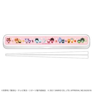 「家庭教師ヒットマンREBORN!× SANRIO CHARACTERS」 POP UP SHOP in 東京キャラクターストリート キャラおはしケースセット
