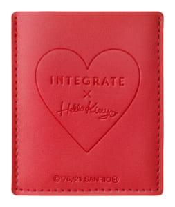 「ハローキティ×インテグレート」インテグレート 水ジェリークラッシュ 特製セット Kハローキティ 限定デザイン特製ミラー