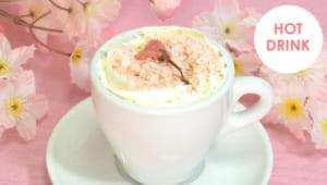 「カードキャプターさくら クリアカード編」×「アニメイトカフェ」さくらと桜の花咲くカプチーノ