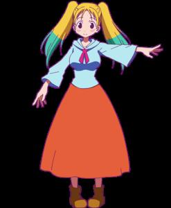 TVアニメ「平穏世代の韋駄天達」ポーラ
