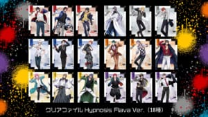 「Hypnosis Flava@Mixalive TOKYO」 グッズ_クリアファイル