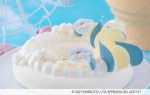 「シナモロールのふわもこスイーツワンダーランド ~サンリオキャラクターズコラボティーパーティー~」雨粒とダンス